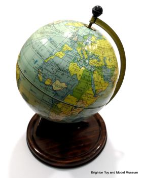 A different world: Political globe, circa 1948, made by Chad Valley