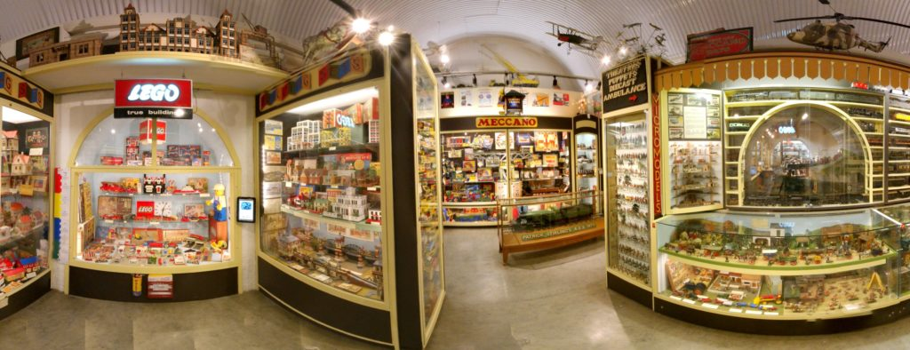 Display spaces, Brighton Toy and Model Museum, interior (2019)